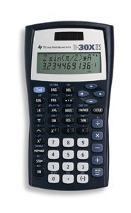 The Great Calculator,Scientific, 2 Line Display, Top Line 11-Digit/Bottom Line 10, Solar - TI-30X-IIS by Generic