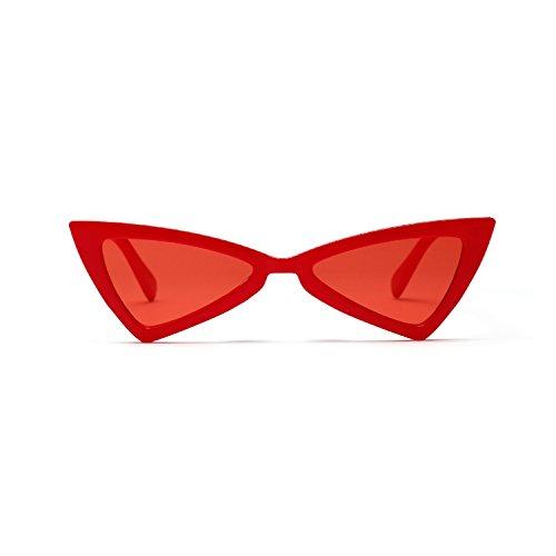 Con Prot Mujer Gafas Polarizado Espejo Lente Retro Unisex Sol Gato Sol De Mujer Y Gran Mujeres Ojo Color Lente Marino Grande Irregularidad Accesorios Marco Retro Retro Grande Estilo Transparente Metal 5q8CwnH