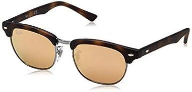 Ray-Ban Women's Child's Clubmaster Sunglasses Black 47 mm 9050S