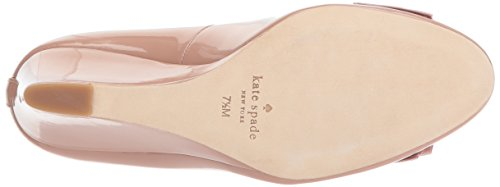 Kate Spade New York Vrouwen Wescott Pomp Fawn Patent