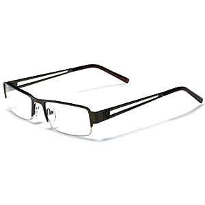 Small Rectangular Frame Clear Lens Designer Sunglasses RX Optical Eye Glasses