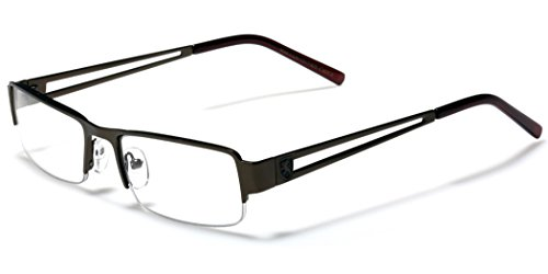 Small Rectangular Frame Clear Lens Designer Sunglasses RX Optical Eye - Online Designer Frames