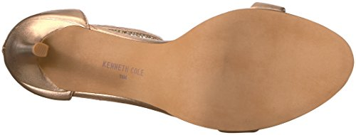 Kenneth Cole New York Womens Bettina Pony Metallic Hak Sandaal Rose Goud
