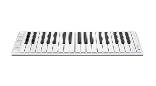 Portable Musical Keyboard, CME Xkey 37 Air MIDI Mobile Keyboard, Bluetooth Connected Keyboard, Digital Piano