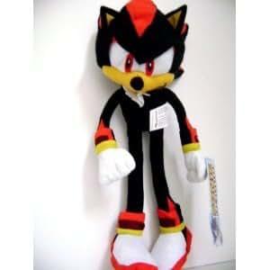 Sega Sonic The Hedgehog X Shadow Plush Doll Stuffed Toy 12 inches