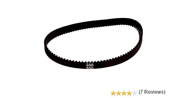 Correa dentada redonda de goma 2GT, de 6 mm de ancho x 200, 280, 400 o 852 mm de largo, para impresora de polea 3D: Amazon.es: Electrónica
