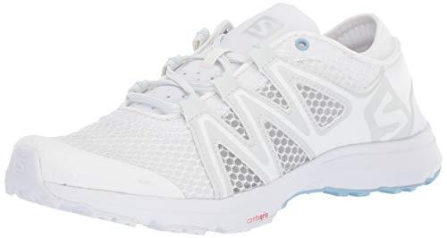 (Salomon Women's Crossamphibian Swift 2 W Walking Shoe, White, 7 M US)