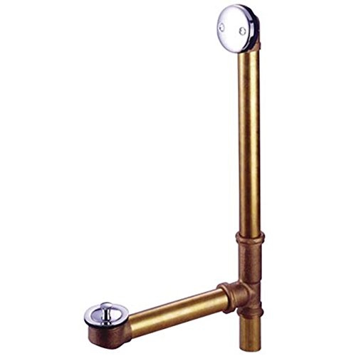 Kingston Brass PDLL3181 Made to Match Tub Waste and Overflow, 27-1/2-Inch, Polished ()
