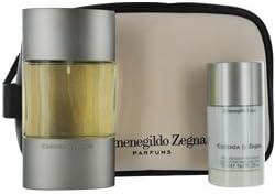 836517d282290 ESSENZA DI ZEGNA by Ermenegildo Zegna Gift Set for MEN: EDT SPRAY 3.3 OZ &  DEODORANT STICK ALCOHOL FREE 2.6 OZ & TOILETRY BAG