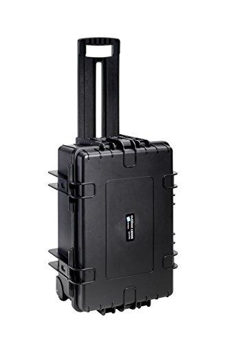 B&W International 6700/B/Solo 6700 Waterproof 3DR Solo, Durable Type, Outdoor Case Custom Insert, Black