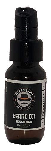 (Kingpin Beard Care Vanilla Beard Oil)