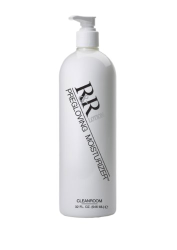 R&R Lotion I.C. Cleanroom Hand Lotion, Fragrance Free, Greaseless, with no contaminates such as silicone, lanolin, glycerin or mineral oil. Absorbs immediately. Glove & CHG Compatible, ESD Safe, NSF E4. 32oz, Model:ICL-32-CR