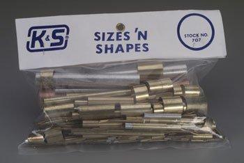 K+S 707 Sizes & Shapes Asst K+SR0707 (Tubing Assortment)