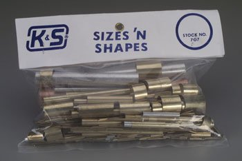 K+S 707 Sizes & Shapes Asst K+SR0707 by K&S Engineering