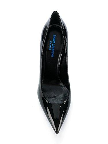 Saint Escarpins Noir Cuir 472011D6CGG1000 Femme Laurent rx6fqRrw
