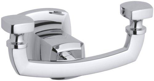 Margaux Robe Hook (KOHLER K-16256-CP Margaux Robe Hook, Polished Chrome)