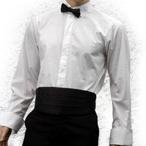 HOMME COSTUME NOEUD PAPILLON + CUMMERBUN   CEINTURE Noir Accessoire de  Vetement 3c3b3c3e118