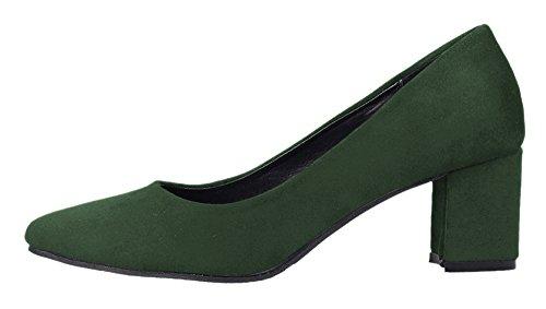 Guoar - Cerrado Mujer Verde - verde