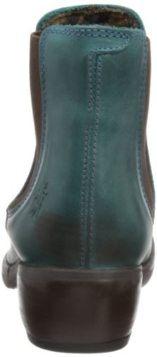 Botas London Verde Make Petrol 007 Chelsea para Fly Mujer TZzxwx