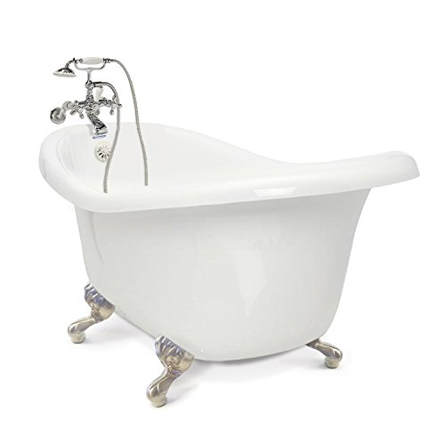 American Bath Factory CC-SC-B-SN, Chelsea Collection Slipper Tub Package
