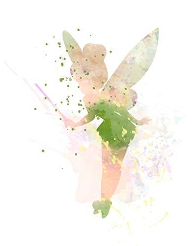 Our Favorite Fairy ~ Decorative Watercolor Pop Art Print (8