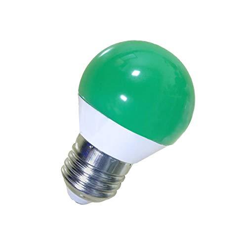 ROLYPOBI Light Bulbs AC 110V 5W E27 RGB LED Colorful Bulb