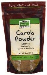 Oz 12 Carob Powder (Carob Powder, Dry Roasted, 12 oz, NOW Foods)