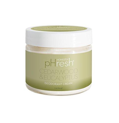 Honestly pHresh Organic Deodorant Cream - Cedarwood & Eucalyptus