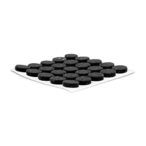 Rok Hardware Heavy Duty Self-Adhesive Felt Pad Bumpers, 3/8