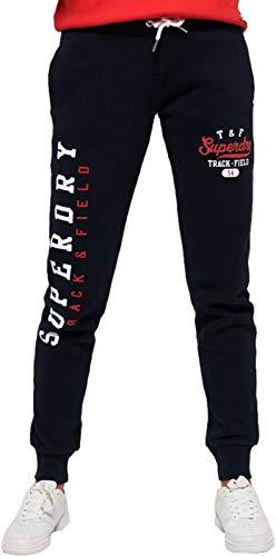 Navy Eclipse Superdry Deportivo Pantalón Mujer Para nTvnYXwx