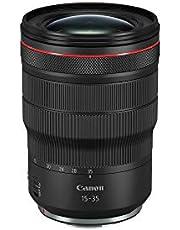 Canon RF 15-35 mm Zoomlens F2.8L IS USM voor EOS R ultragroothoek (82 mm filterdraad, beeldstabilisator, autofocus), zwart