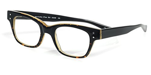 eyebobs Fizz Ed, Black and Demi Tortoise Reading Glasses - SUPERIOR QUALITY- The best $79 you will ever spend