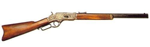 DENIX(デニックス) ウィンチェスターM73(彫刻)ゴールド アメリカ19世紀モデル 全長99cm [1253/L] B0064XYZ4Y