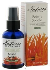 Sciatic Soothe Wellness Oil Nature's Inventory 2fl oz (60ml) Liquid by Nature's - Wellness Oil Soothe