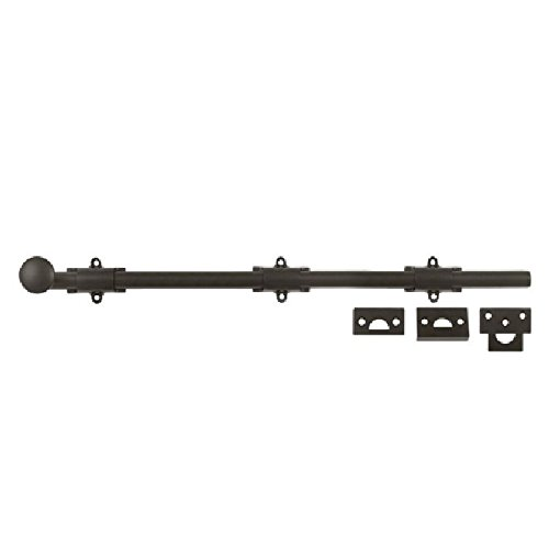 Deltana 18SB10B HD Solid Brass 18-Inch Surface (Bronze Finish Surface Bolts)
