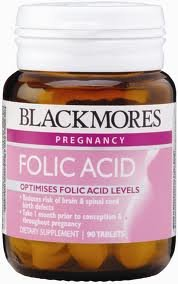 Blackmores Viltamins Folic Acid for women who are ready to have a child 90 tablets. by Food nourishes the body.