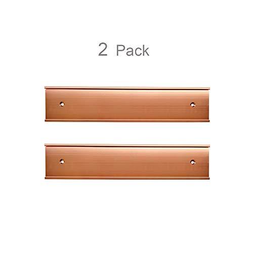 (Nameplate Holder Wall or Door 2 Pack (2