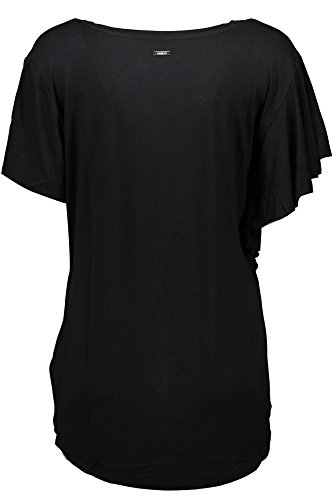 Guess T Donna Nero Top Kisses A996 shirt ZZErvw