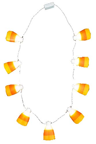 Virginia Toy WeGlow International Candy Corn Bulb Necklace (Pack of 3)