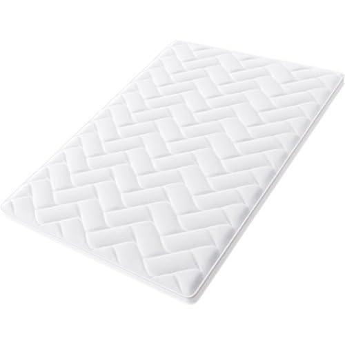 chollos oferta descuentos barato Hilding Sweden Pure Topper Cubierta de Colchón de Espuma Fría Blanco 200 x 100 x 5 cm