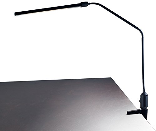 Lavish Home Contemporary Clamp LED Desk Lamp, Black (41