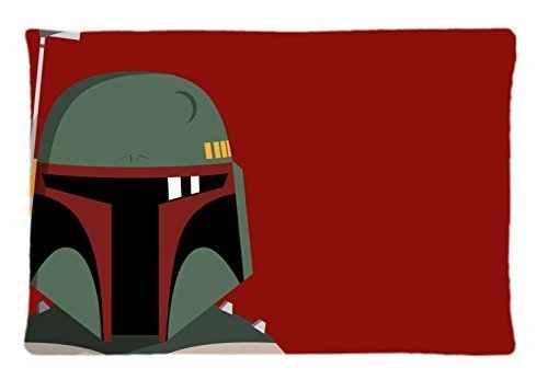 Boba Fett Armor Star Wars Custom Pillowcase Rectangle Pillow Cases 20x30 Inches (one side) by Coco Pillowcase