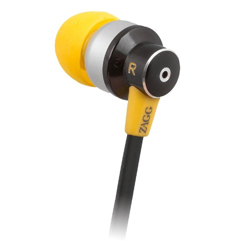 ZAGG Six Earbuds with Microphone - Yellow/Black