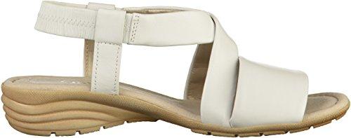 550 Cuña cómodo Del sandalias sandalias best Cuña sandalias De Fitting zapatos übergrößen plana Mujer 21 Verano White Gabor 24 5qv788