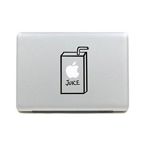 apple juice macbook air decal - 9