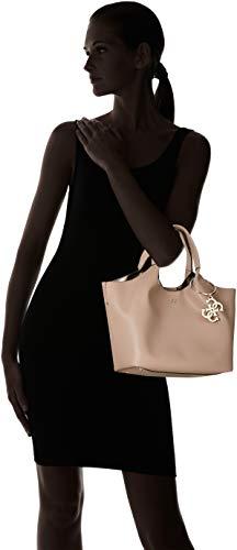 Shoppers Guess taupe Bolsos Y Hombro Flora Marrón tau De Mujer F5wATq