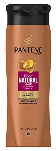Pantene Truly Natural Shampoo 12.6 Ounce (375ml) (2 -
