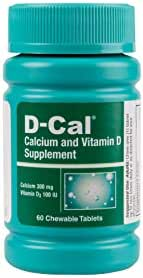 D-Cal® Adult 300 Calcium and Vitamin D Dietary Supplement