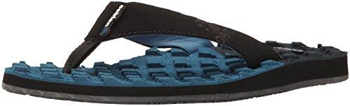 cobian Men's oam Traction Flip Flop, Blue, 12 M US