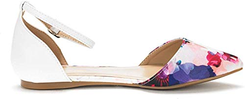 DREAM PAIRS Women's D'Orsay Casual Ballet Flats Shoes